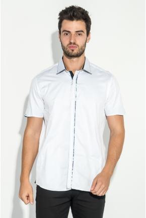 Рубашка мужская с потайной застежкой 50P294