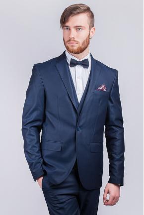 Пиджак мужской темно-синий №280F003