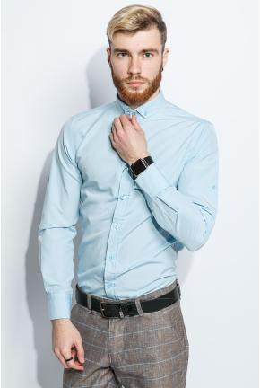 Рубашка мужская однотонная 333F007