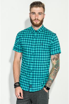 Рубашка мужская клетка  стиль casual 50P2357