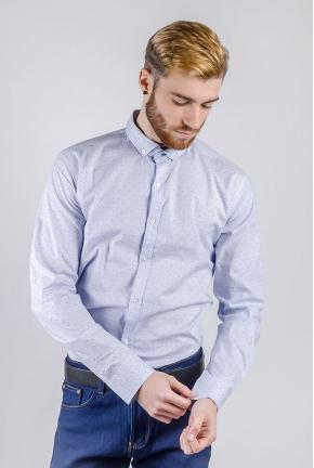 Рубашка мужская стильная 222F081