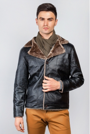 Куртка мужская однотонная зимний сезон 705K002