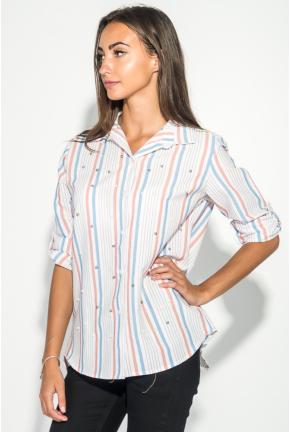 Рубашка женская с бусинами 51P004