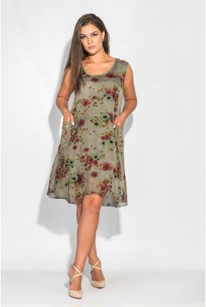 Платье женское с карманами 464F002