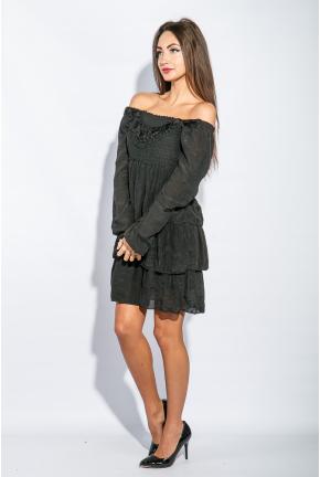 Платье женское до колена №19PG026