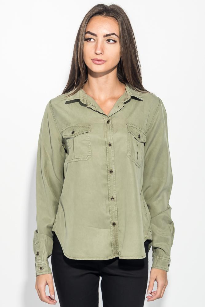 Рубашка женская свободного покроя 270V001