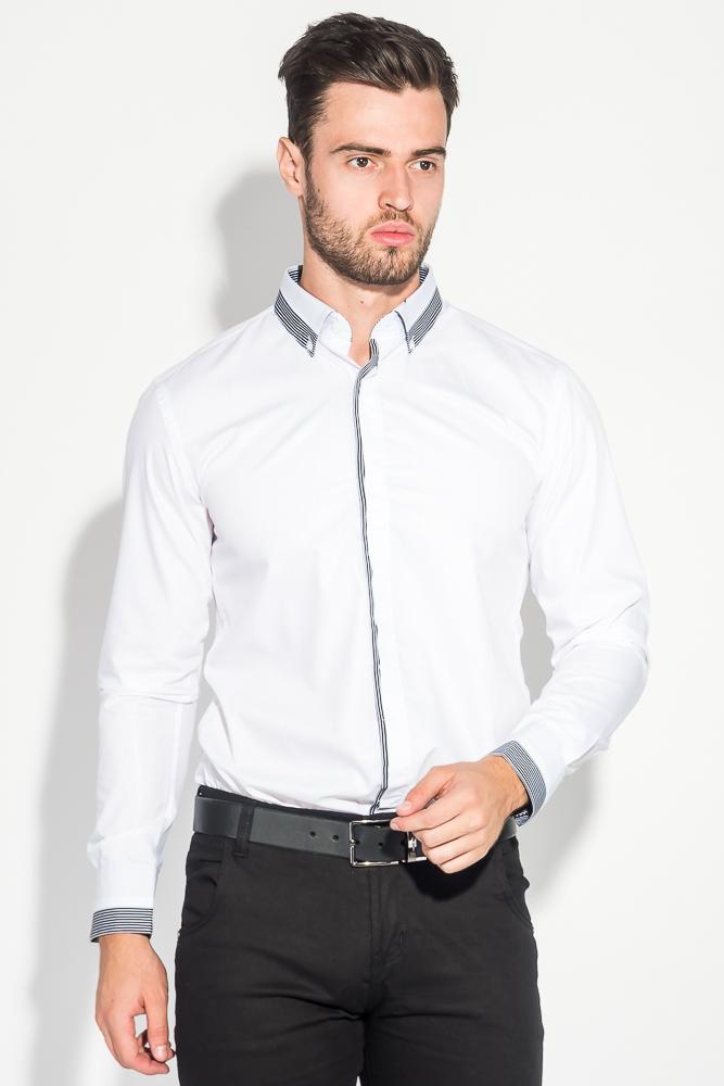 Рубашка мужская стильный манжет 50PD3295