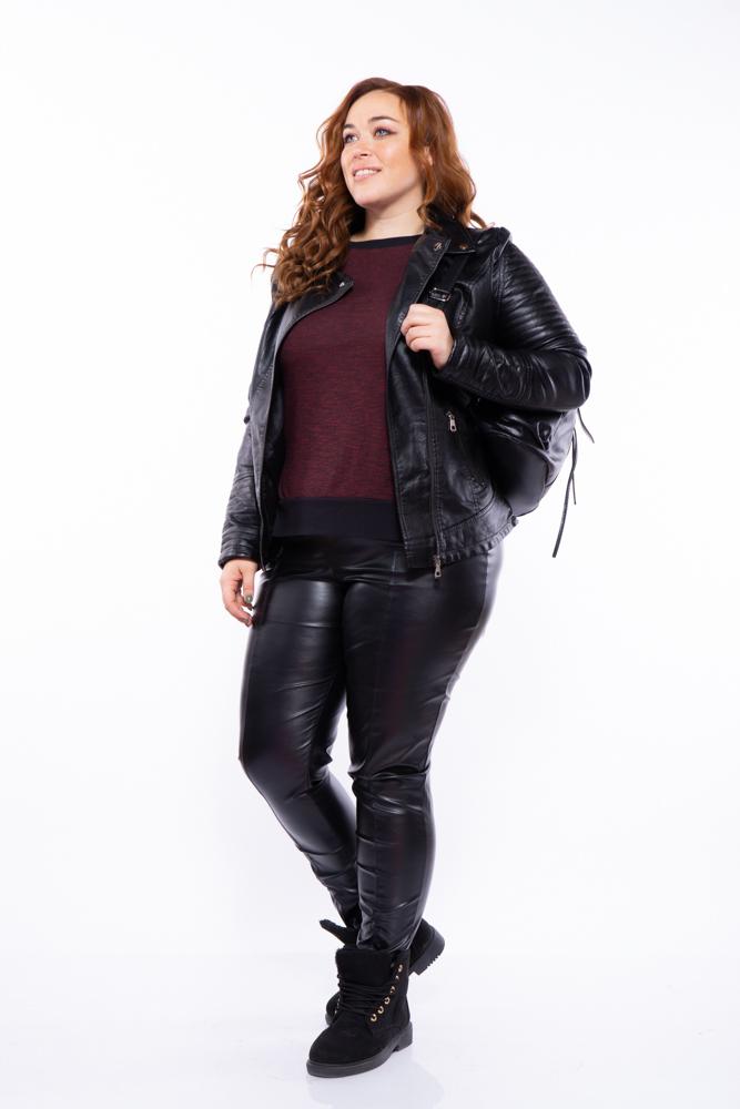 Куртка женская из экокожи 170P8226