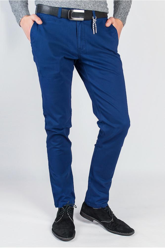Брюки синие мужские 734K001