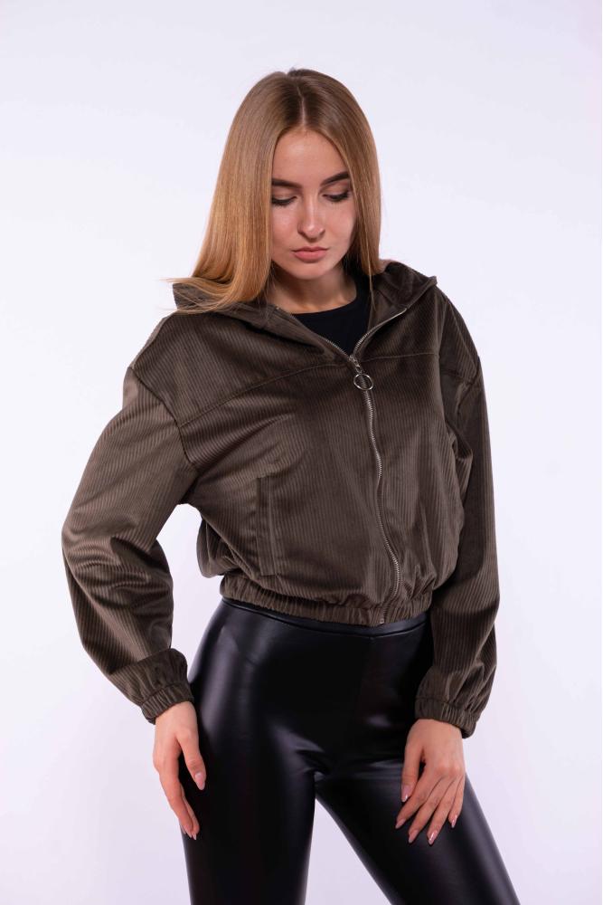 Куртка из вельвета 153P013