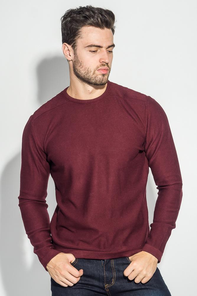 Свитер мужской фактурная вязка на плече 498F005-1