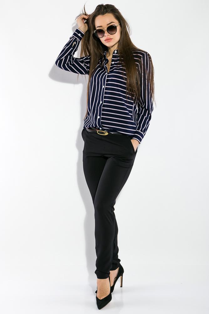 Костюм женский (рубашка,брюки) Классический 95P8024