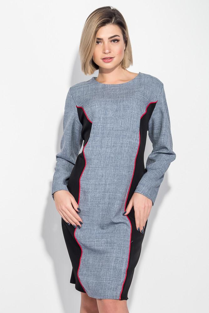 Платье женское (батал) стройный силуэт 74PD361