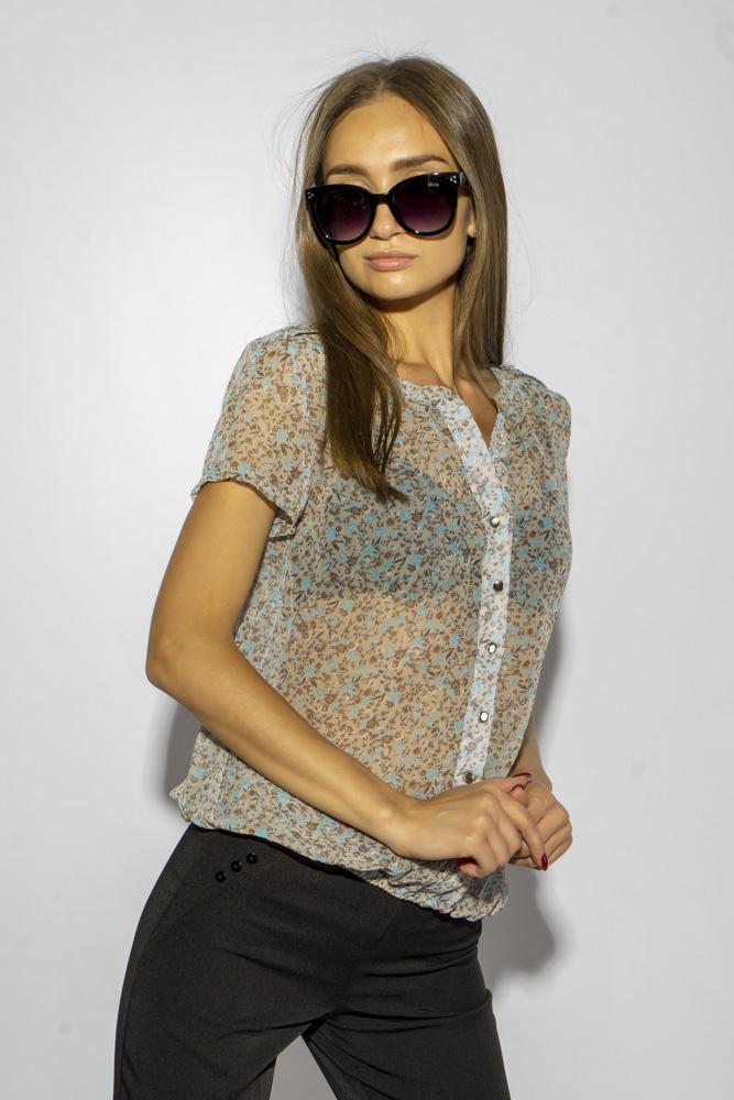 Блузка женская с коротким рукавом 118P324