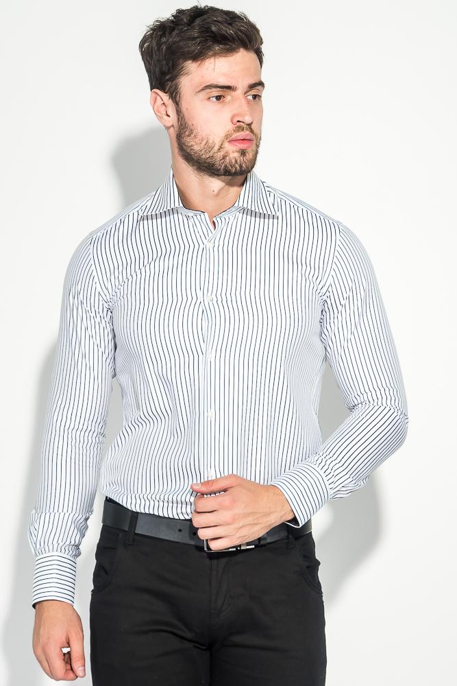 251079dfe1e9c28 Рубашка мужская приталенная 50PD62643 купить дешево - интернет ...