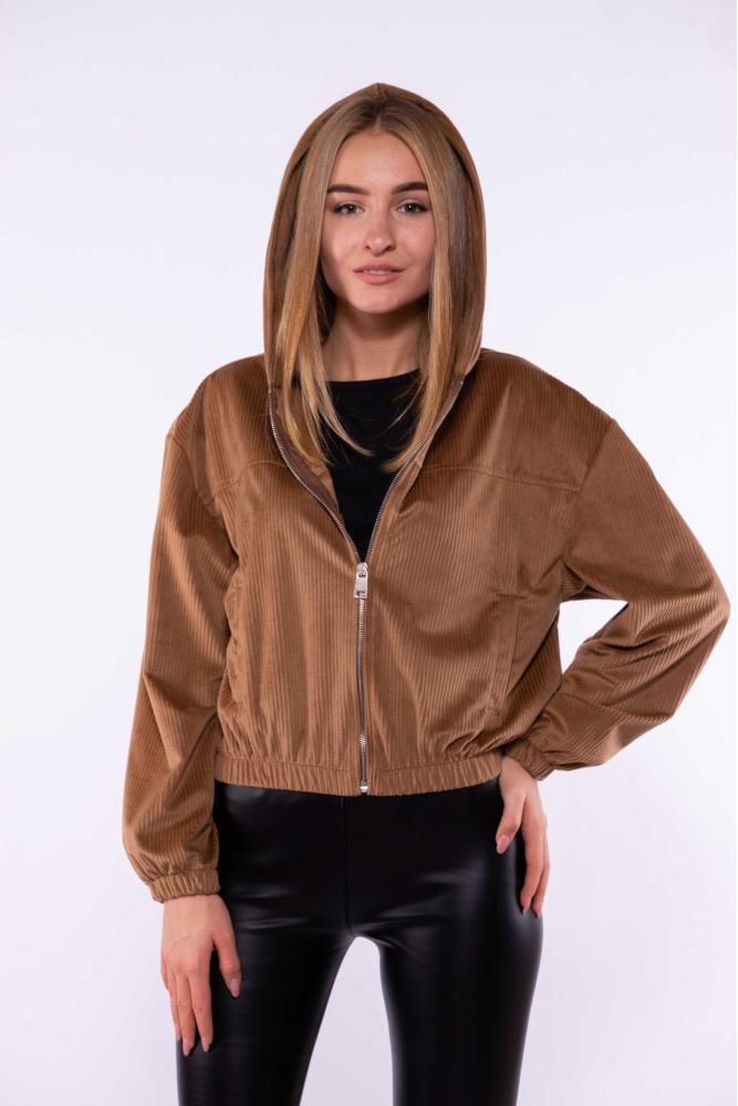 Куртка из вельвета 153P013-1