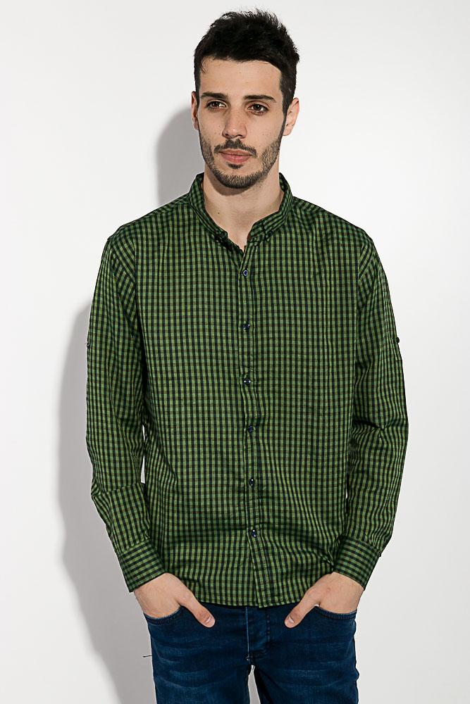 Рубашка мужская в клетку 511F003-5