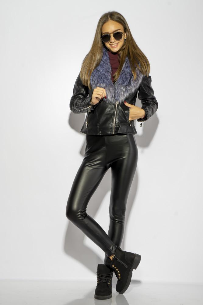 Куртка женская с меховым воротником 170P9032