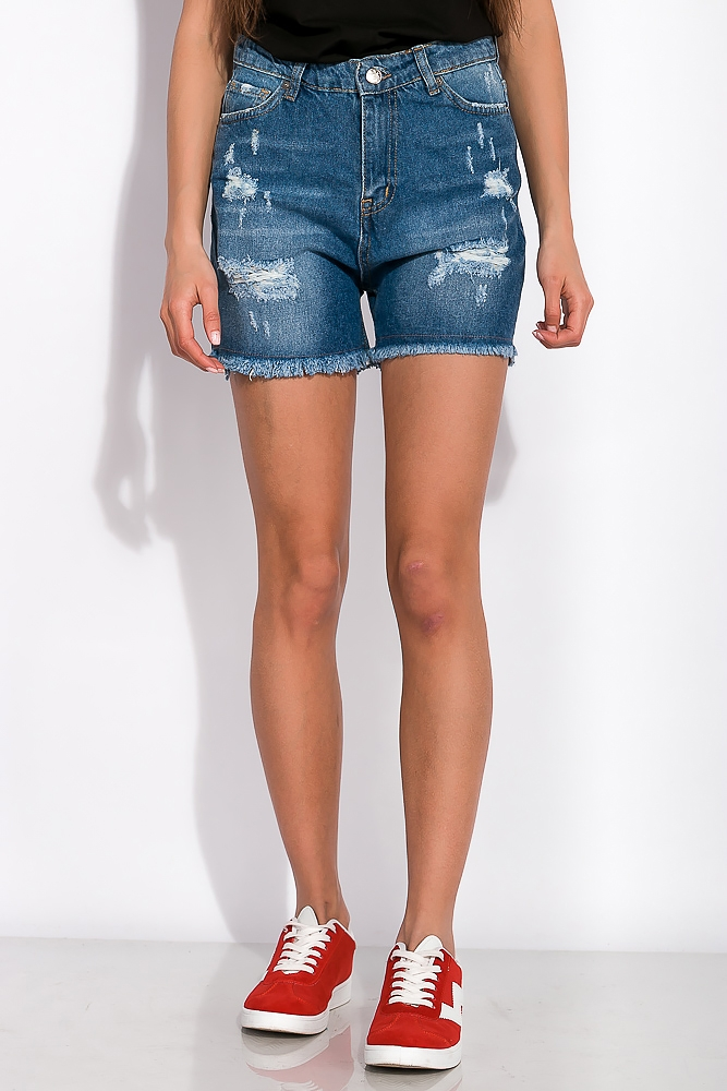 Женские джинсовые шорты 120PEL046-2