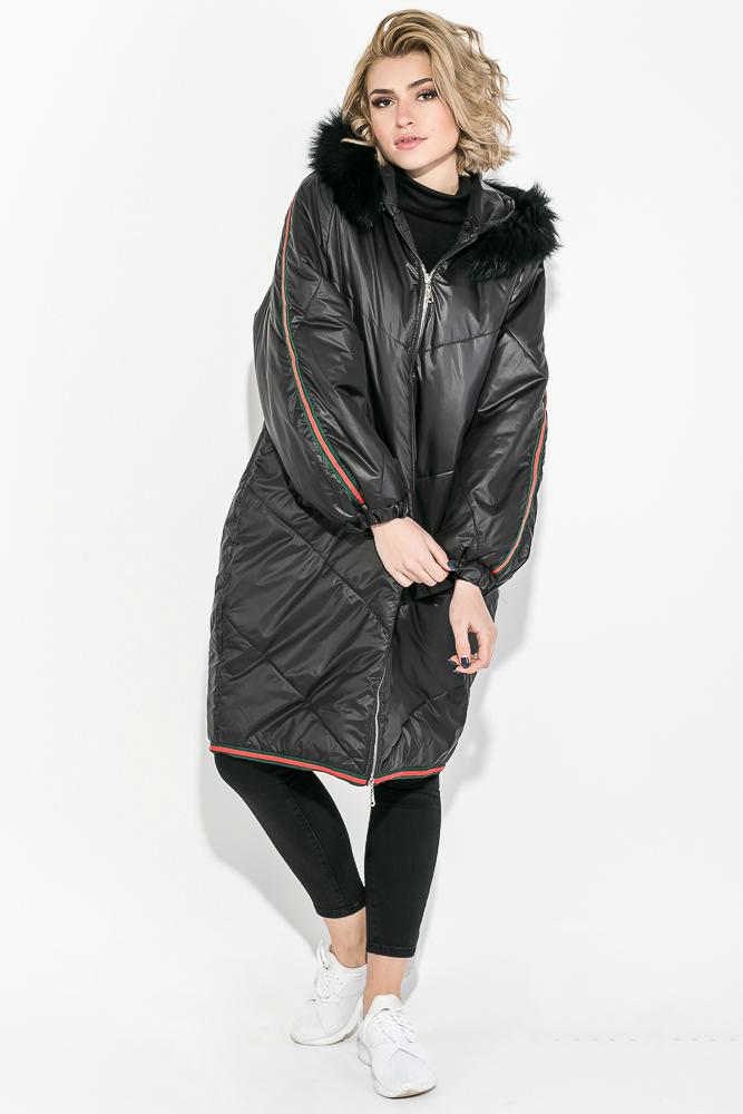 fe7ba4bf1643 Пальто женское зимнее, стильный крой 69PD1057 купить дешево ...