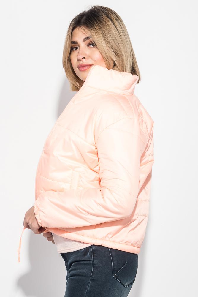 Куртка женская однотонная, с карманами 72PD153