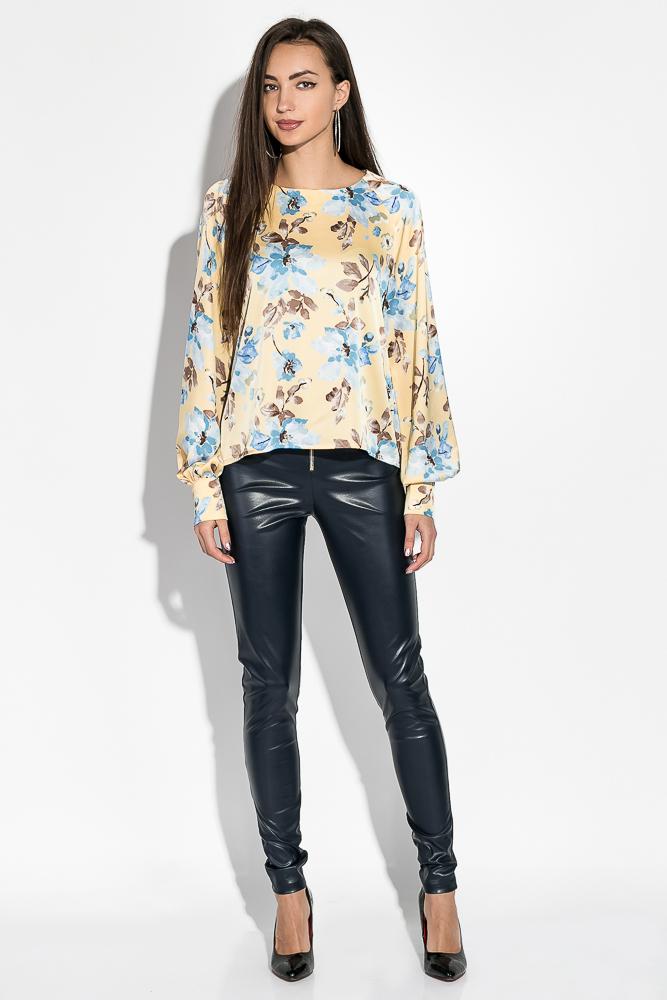 Блузка женская с цветочным принтом 64PD360