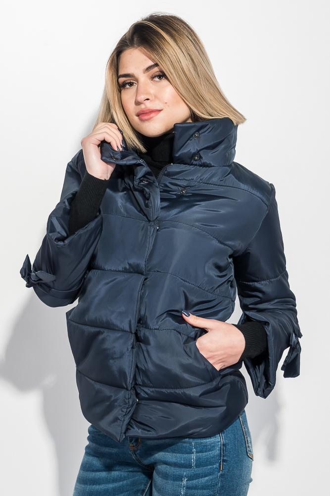 Куртка женская с бантиками на рукавах 72PD201