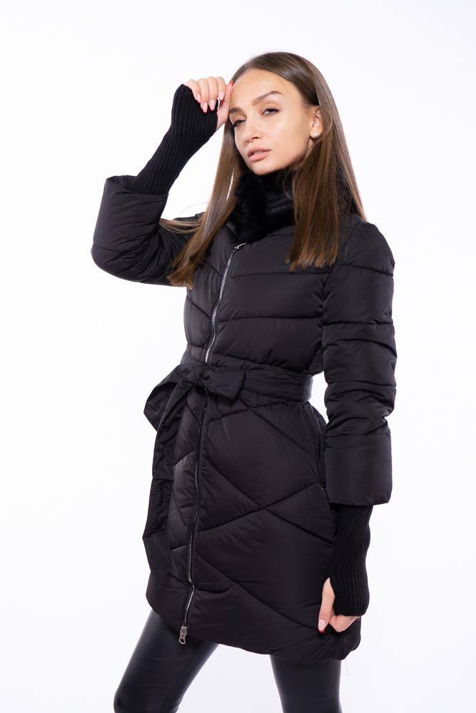 Куртка женская с меховым воротником 120PSKL2108