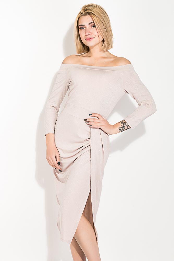 Платье женское, коктельное с люрексом 72PD216