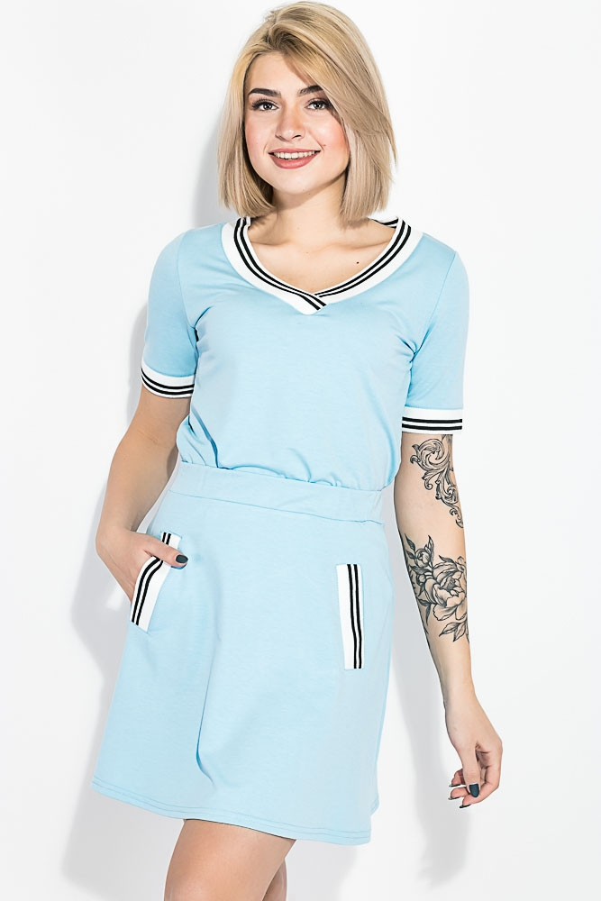 Костюм женский (футболка, юбка) 74P104