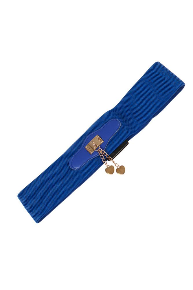 Ремень женский широкий на резинке 000KO057