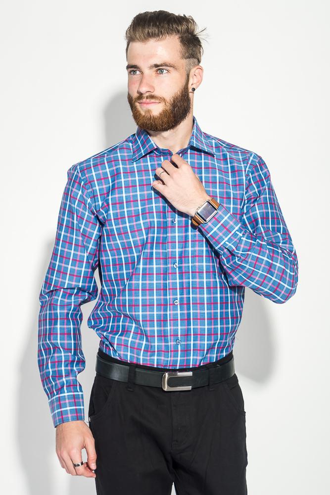 Рубашка мужская в клетку 50PD0053