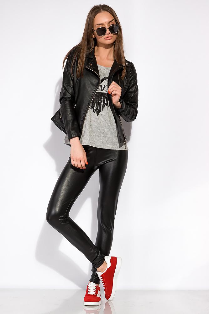 Куртка женская из эко кожи 120PLI265