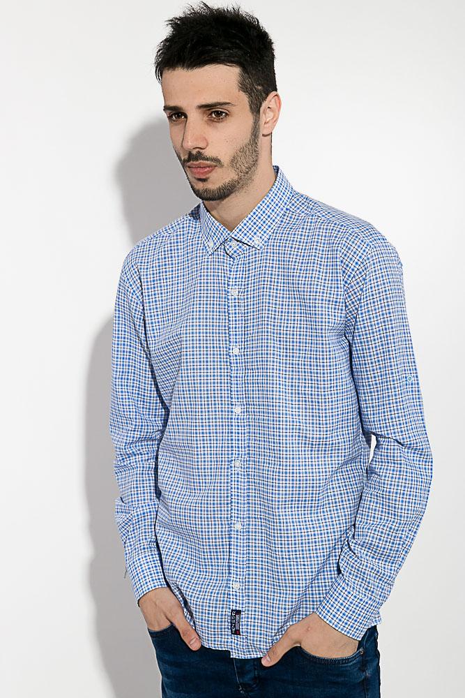 Рубашка мужская в клетку 511F003-6