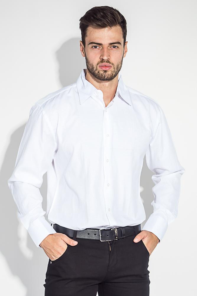 Рубашка мужская мелкий, фактурный принт 50PD37162-1