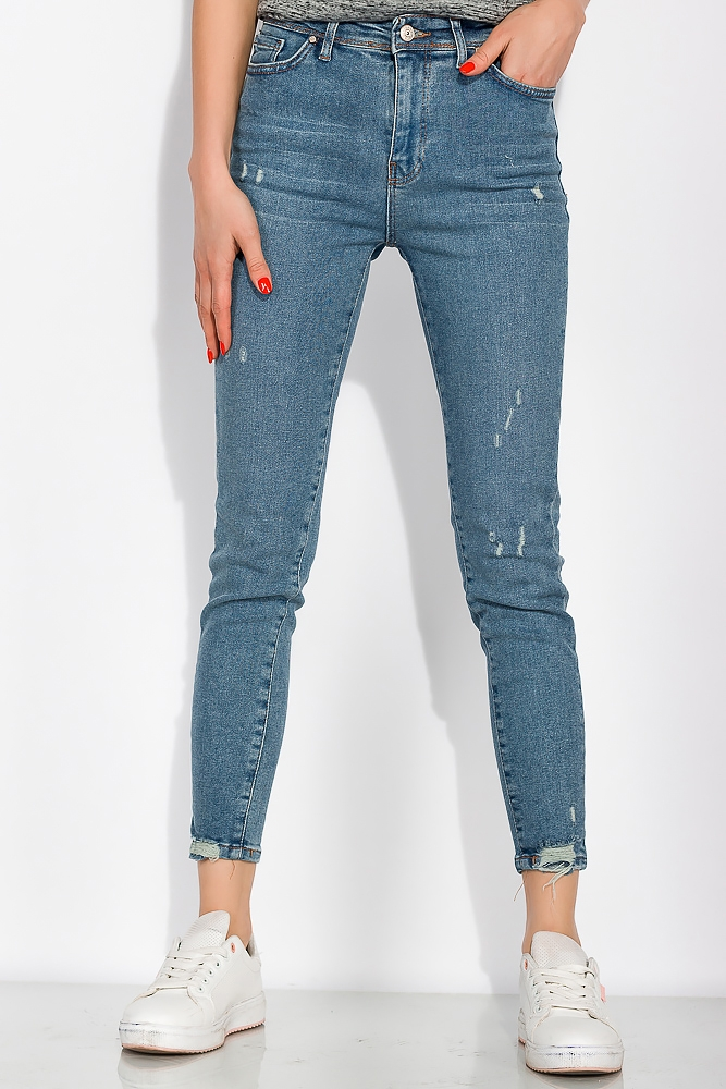 Модные женские джинсы  120PNR496