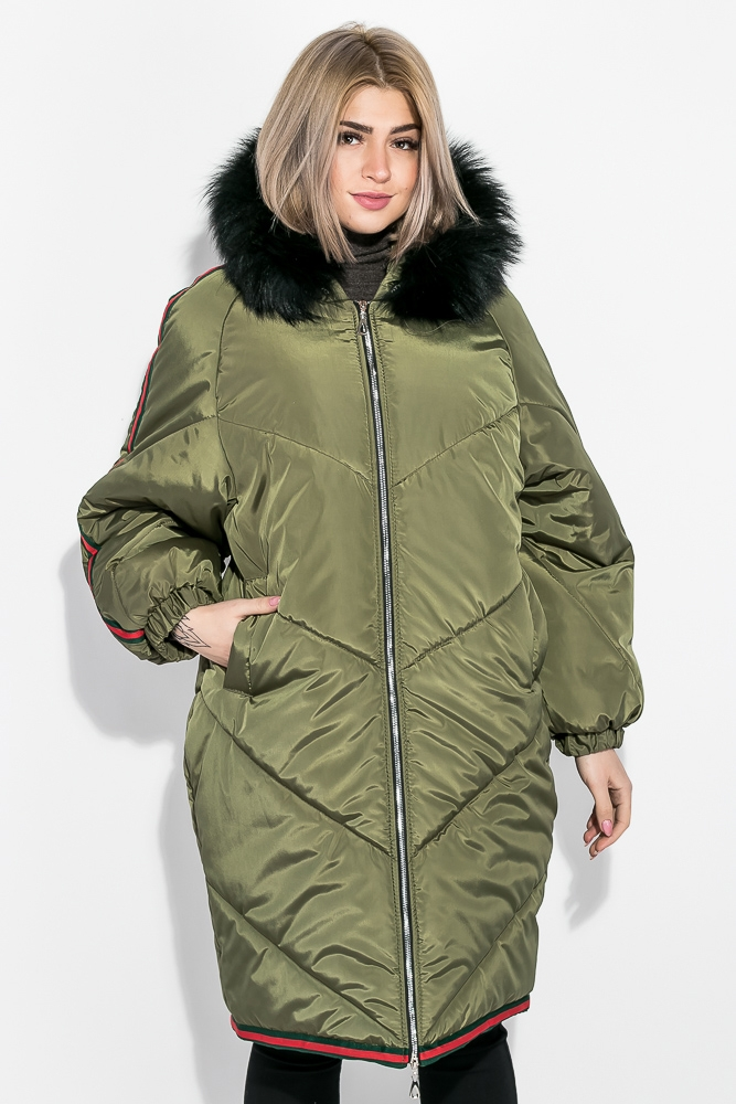 Пальто женское зимнее, стильный крой 69P01057