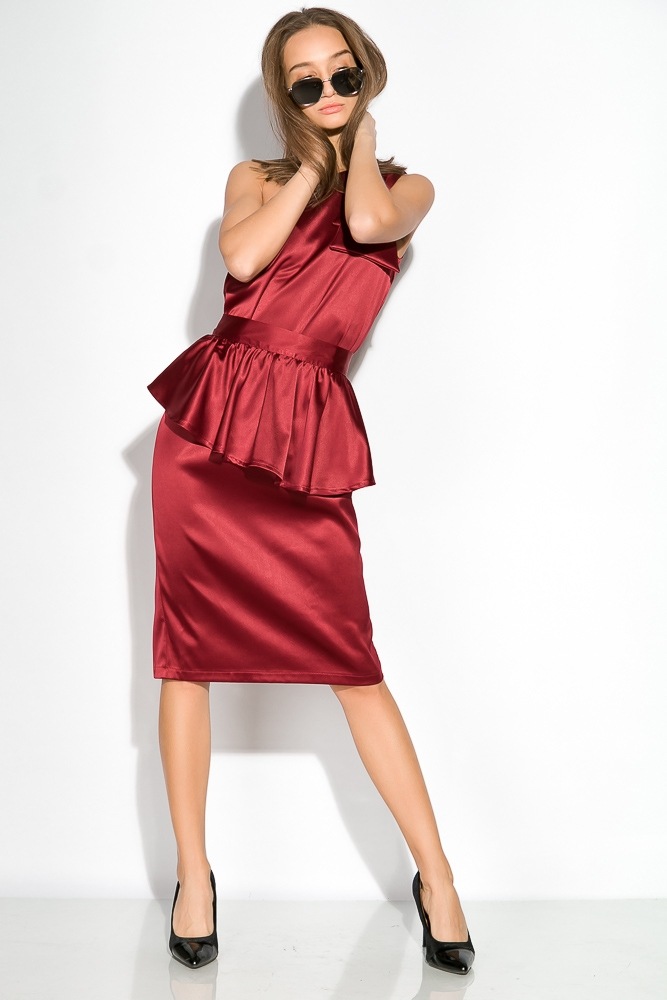 Платье женское, вечернее, шелковое  64PD357