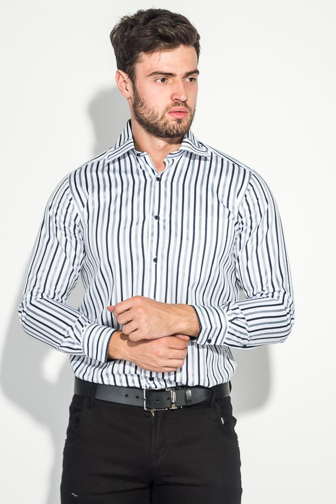 Рубашка мужская в полоску 50PD50701