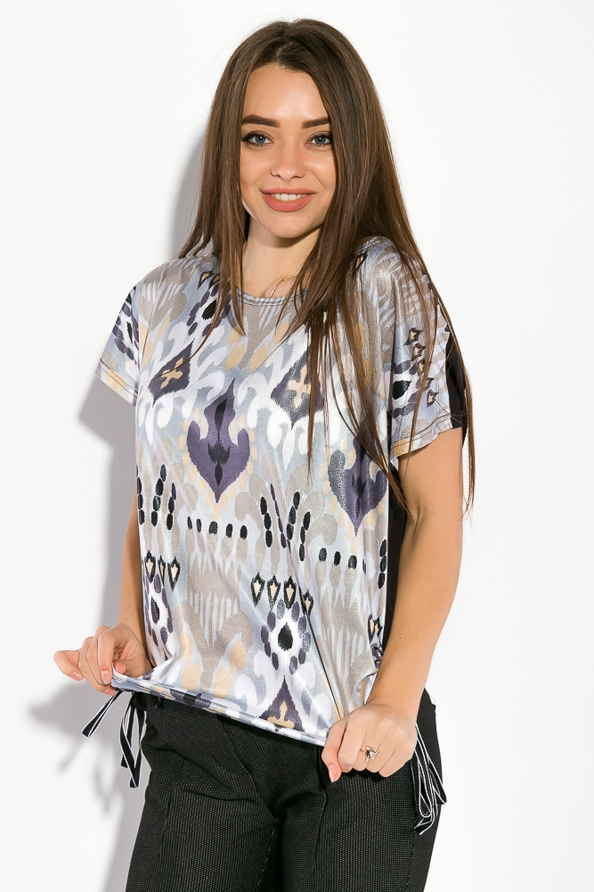 Блуза женская, принтованная 5400