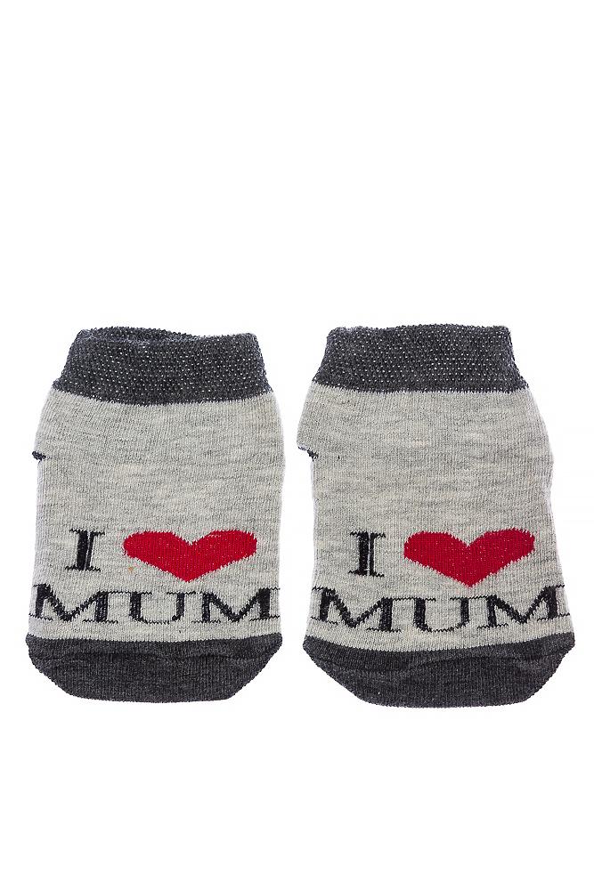 Носки 120PUK001-1 junior I Love Mum