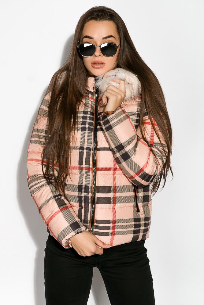 Куртка женская в клетку 120PLI9030