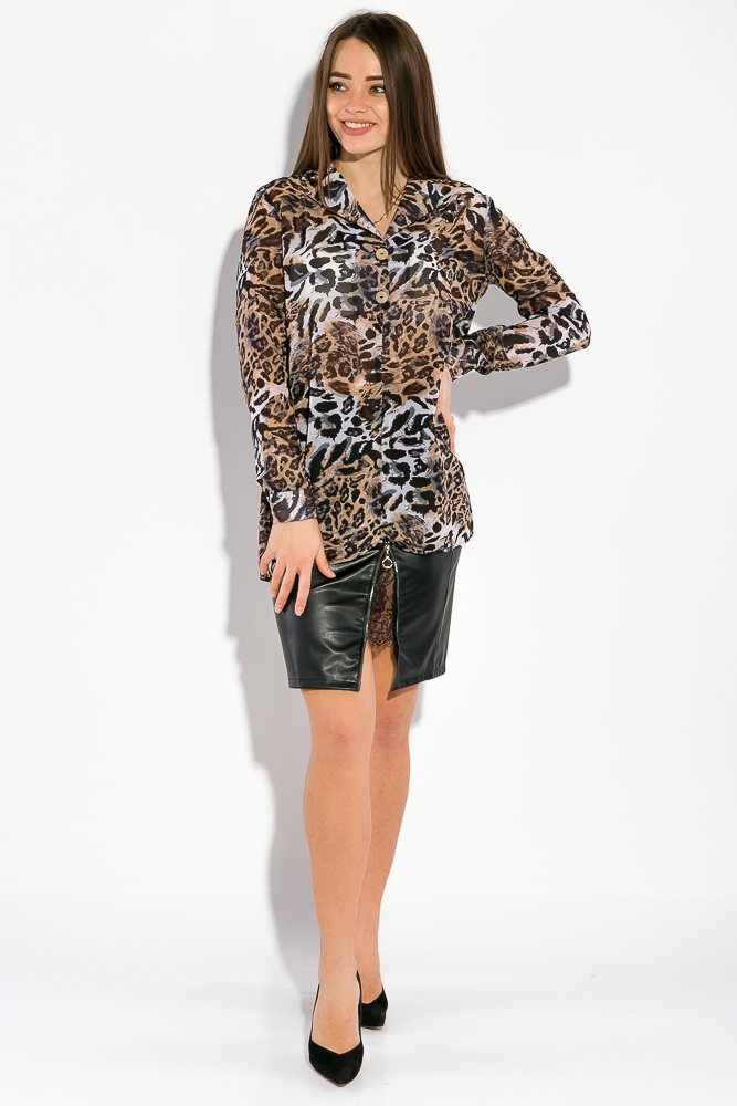 Рубашка женская, шифоновая  64PD3481-1