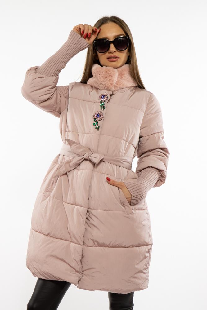Куртка женская с воротником стойка 120PSKL6839