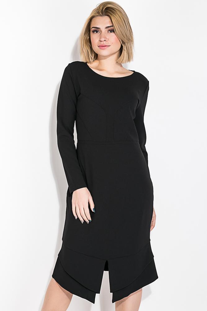 Платье женское спереди с разрезом 74PD312