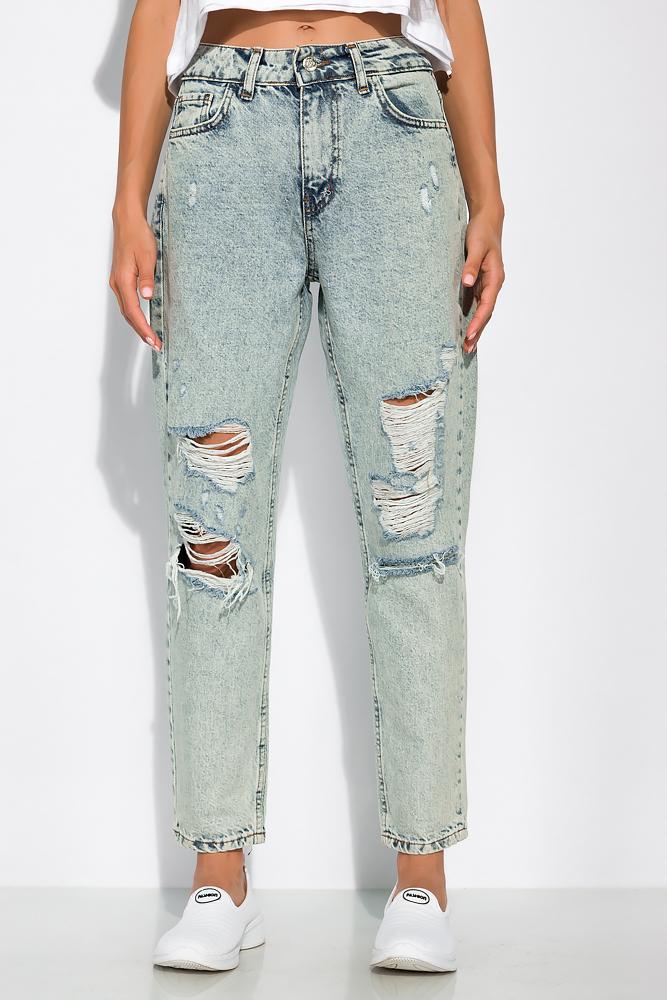 Модные рваные джинсы 162P011