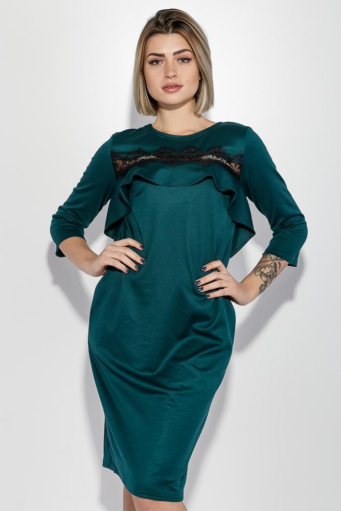 Платье женское гипюровая вставка на груди 72PD136