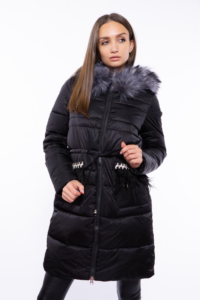 Куртка женская с перьевой отделкой 120PSKL2206