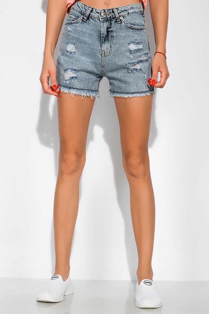 Женские шорты с бахромой 162P019
