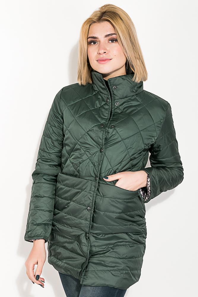 Куртка женская, удлиненная, стеганая  80PD1221